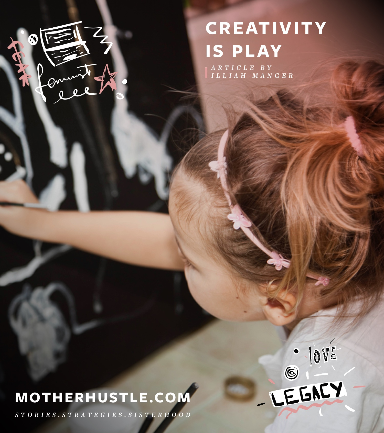 Creativity Is Play - Illiah Manger MotherHustle