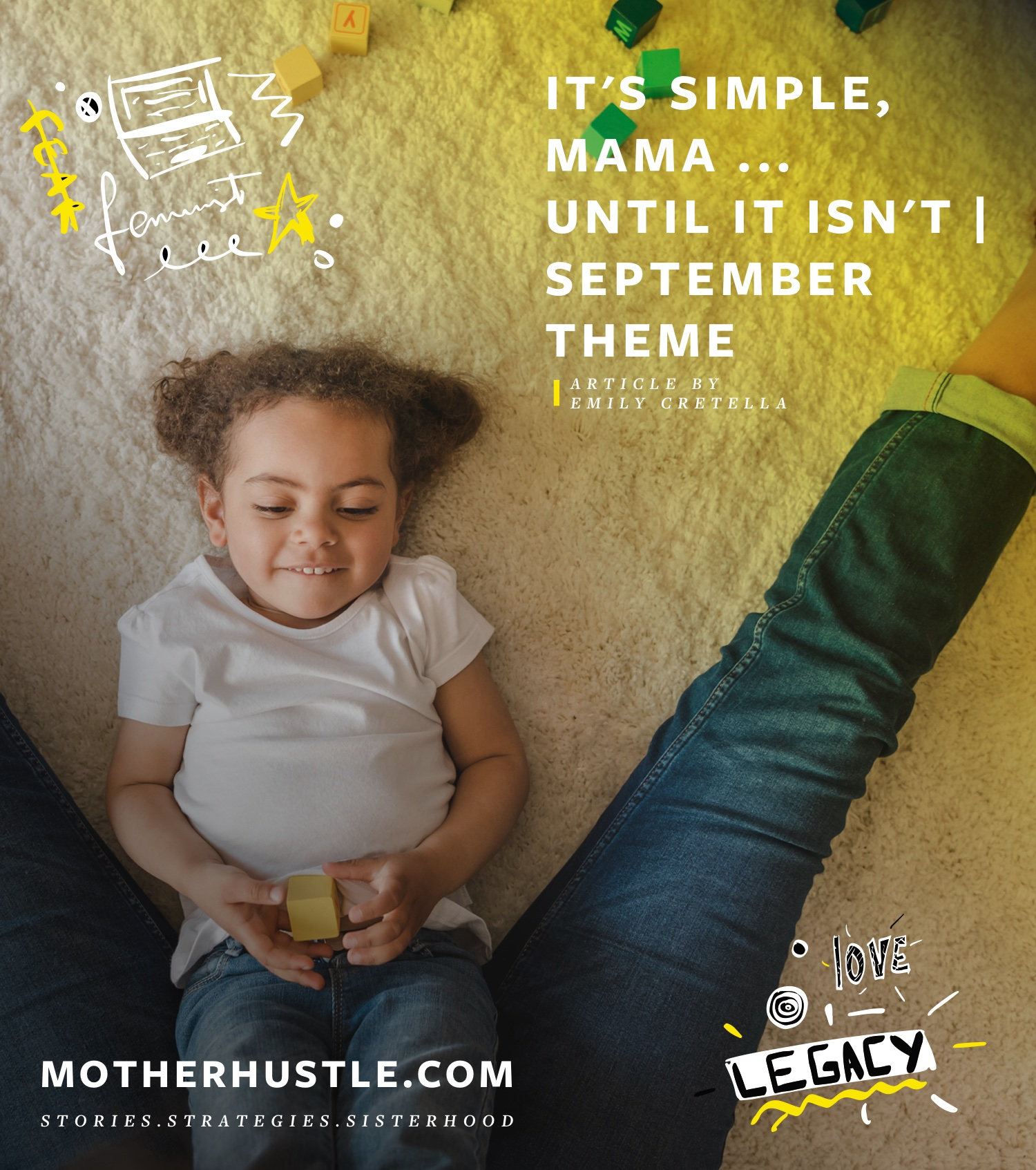 It's Simple, Mama ... Until It Isn't [September Theme] - Emily Cretella MotherHustle