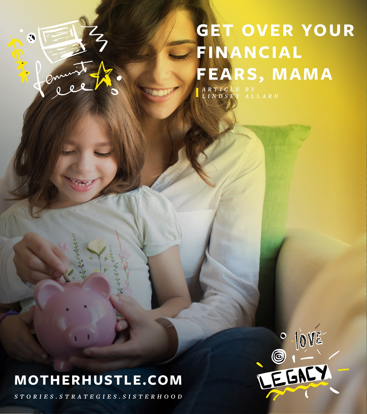 Get Over Your Financial Fears, Mama- Investing 101 by Lindsey Allard for MotherHustle