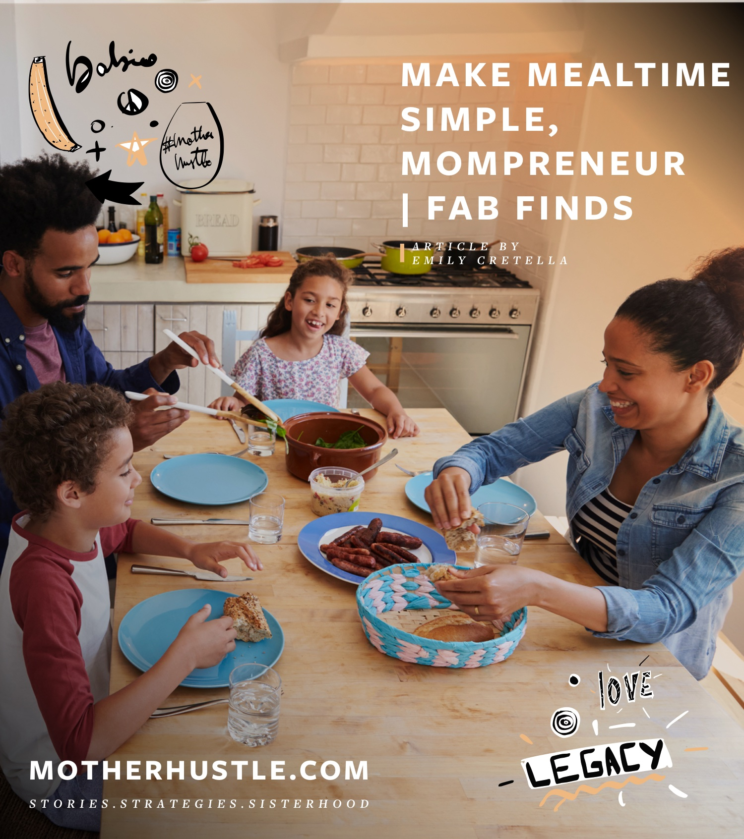 Make Mealtime Simple, Mompreneur | Fab Finds