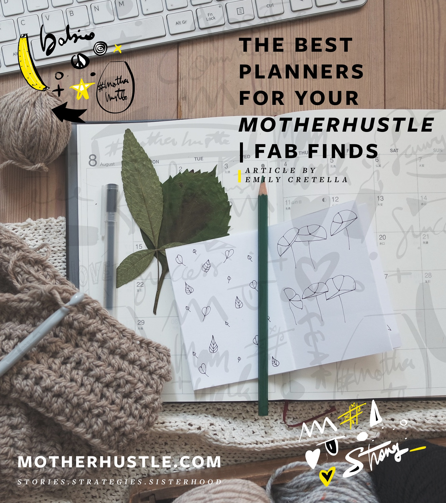 The Best Planners for Your MotherHustle - Fab Finds - by Emily Cretella