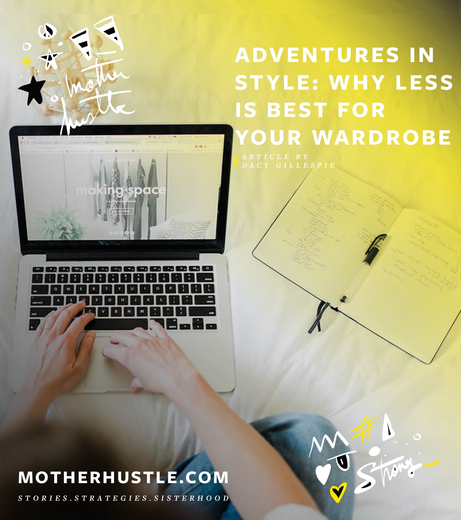 Adventures in Style- Why Less is Best for Your Wardrobe - by Dacy Gillespie for MotherHustle